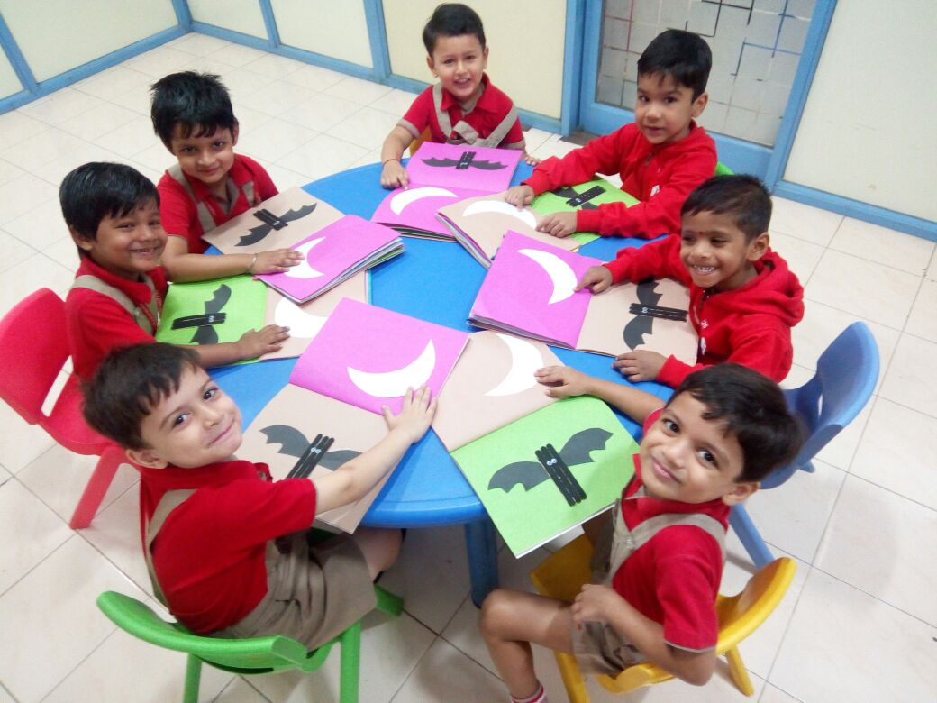 Introduction of Black colour - Preprimary