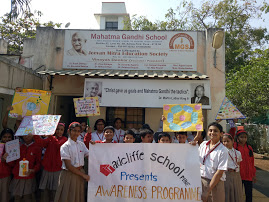 Visit to Gandhi School