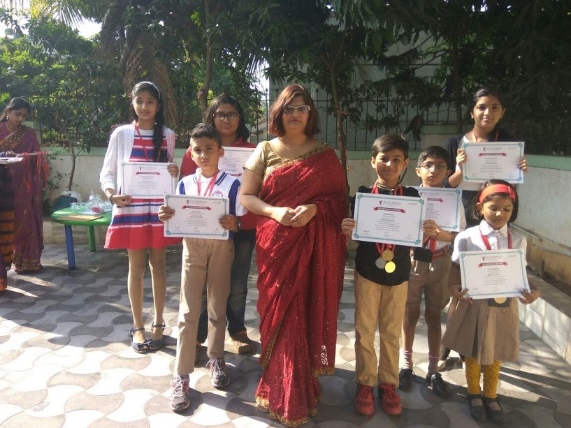 Felicitation of Olympiad Medalists