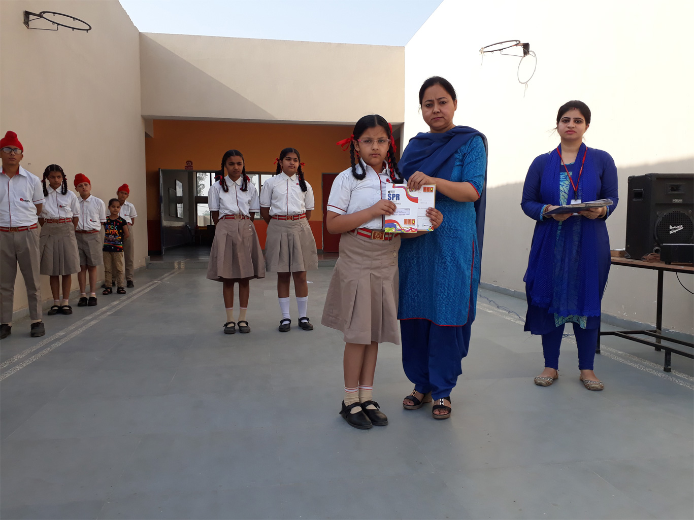 Olympiad certificates distribution