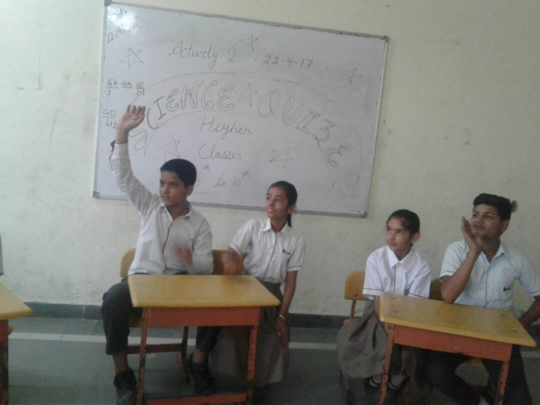 Science Quiz Activity