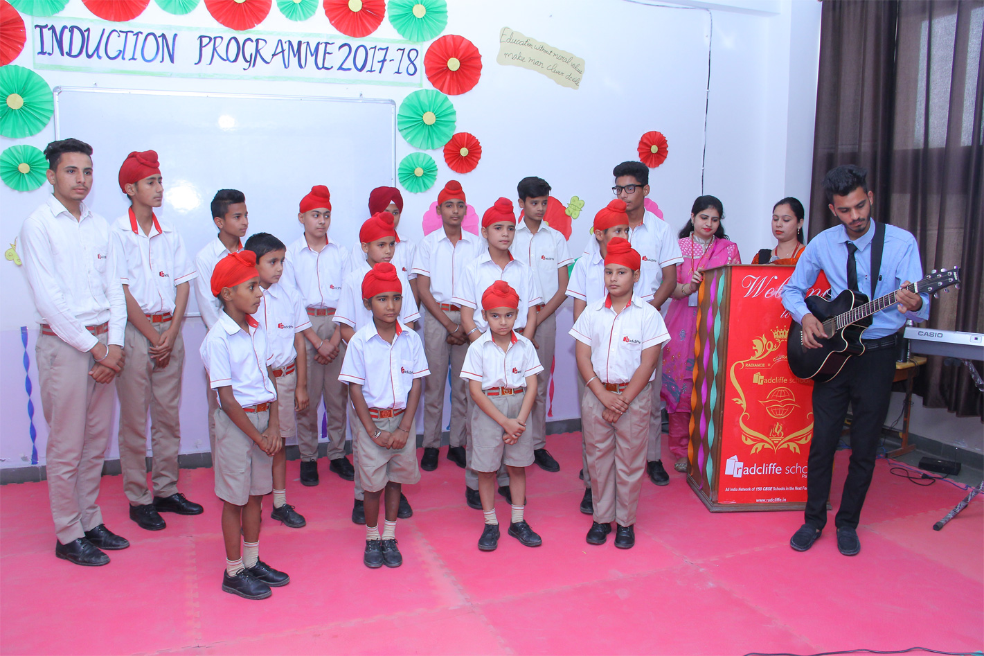 Induction programme for Grade III