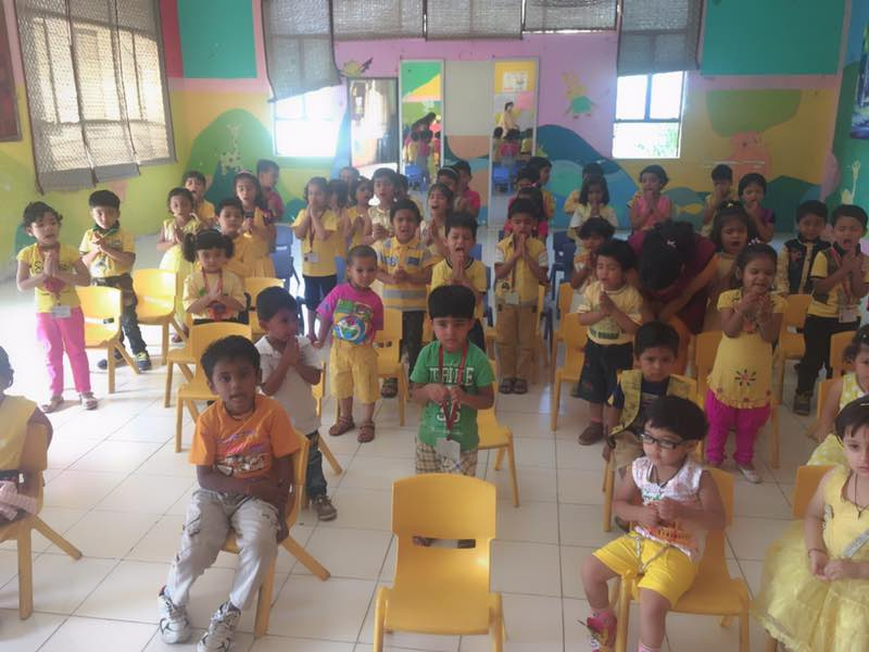 Yellow Day Celebration - Kindergarten Activity
