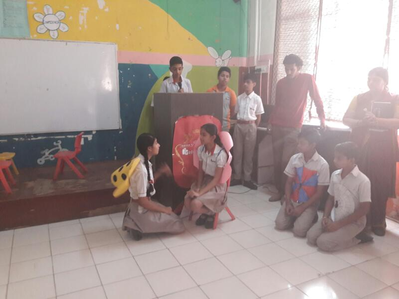 Assembly by Students