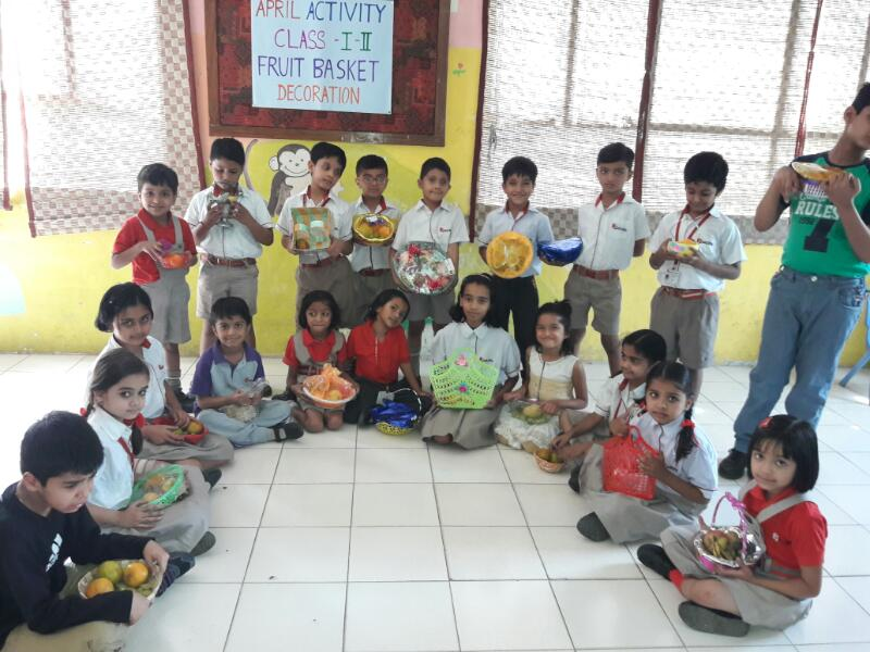 Fruit Basket Activity - Class I & II