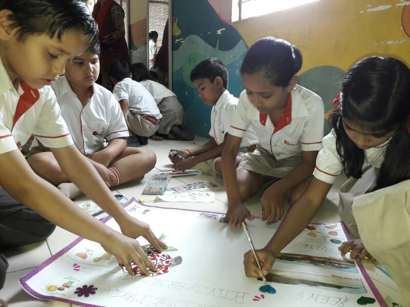 Summer Collage Activity - Class III & IV