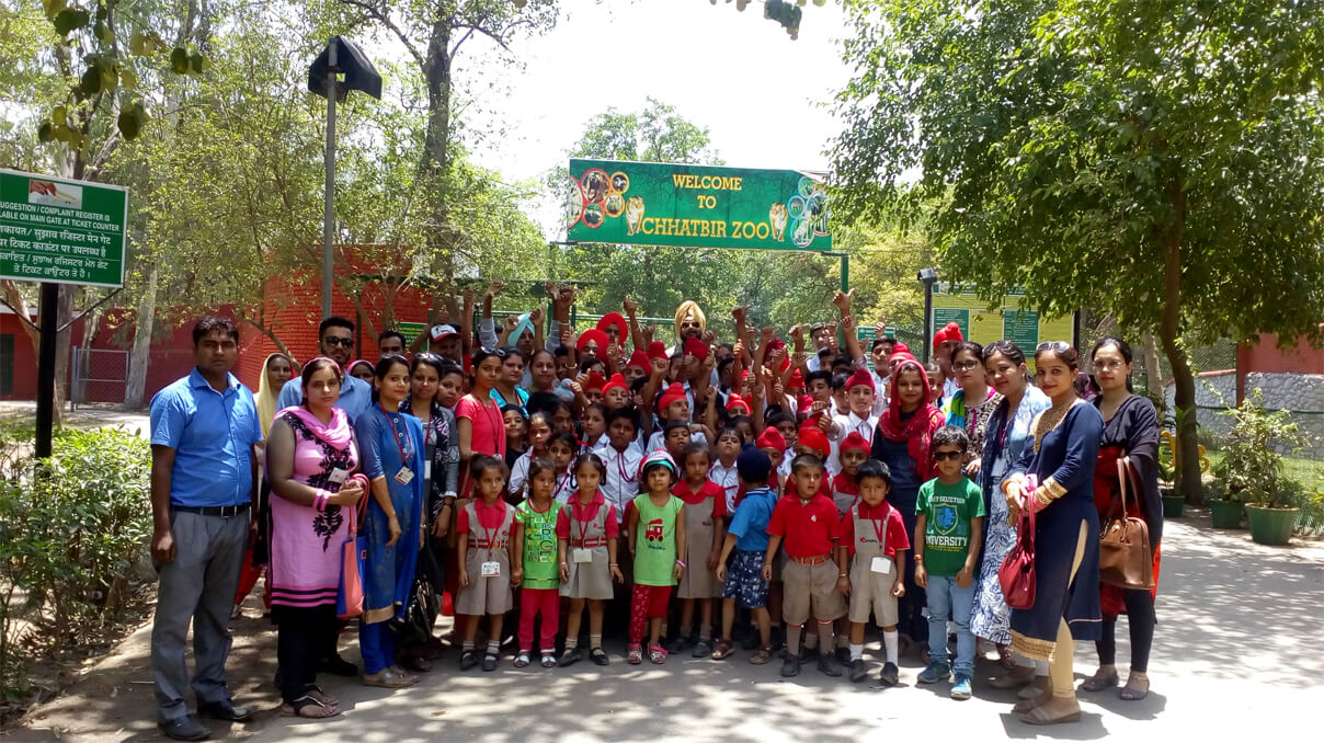 Visit to Chhatbir Zoo