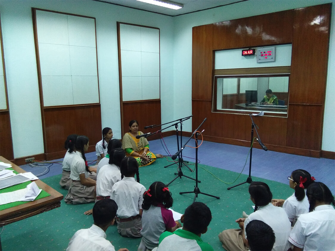 Bal Sabha Program at ALL INDIA RADIO