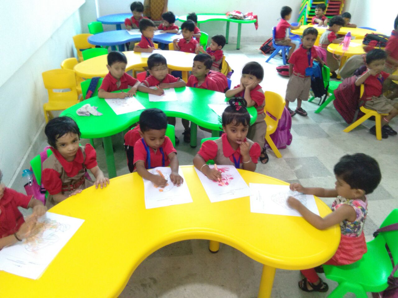 Colouring competition- Pre primary