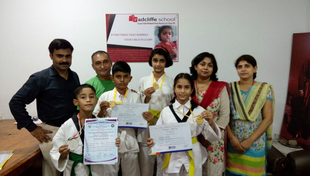 Winners of Interschool Taekwondo Championship