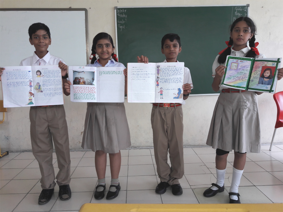 Hindi Activity - Class VI