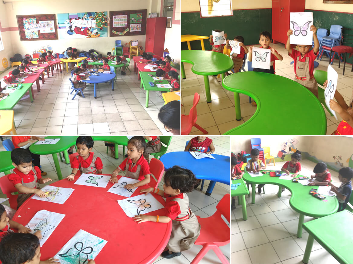 Colouring Competition - Kindergarten