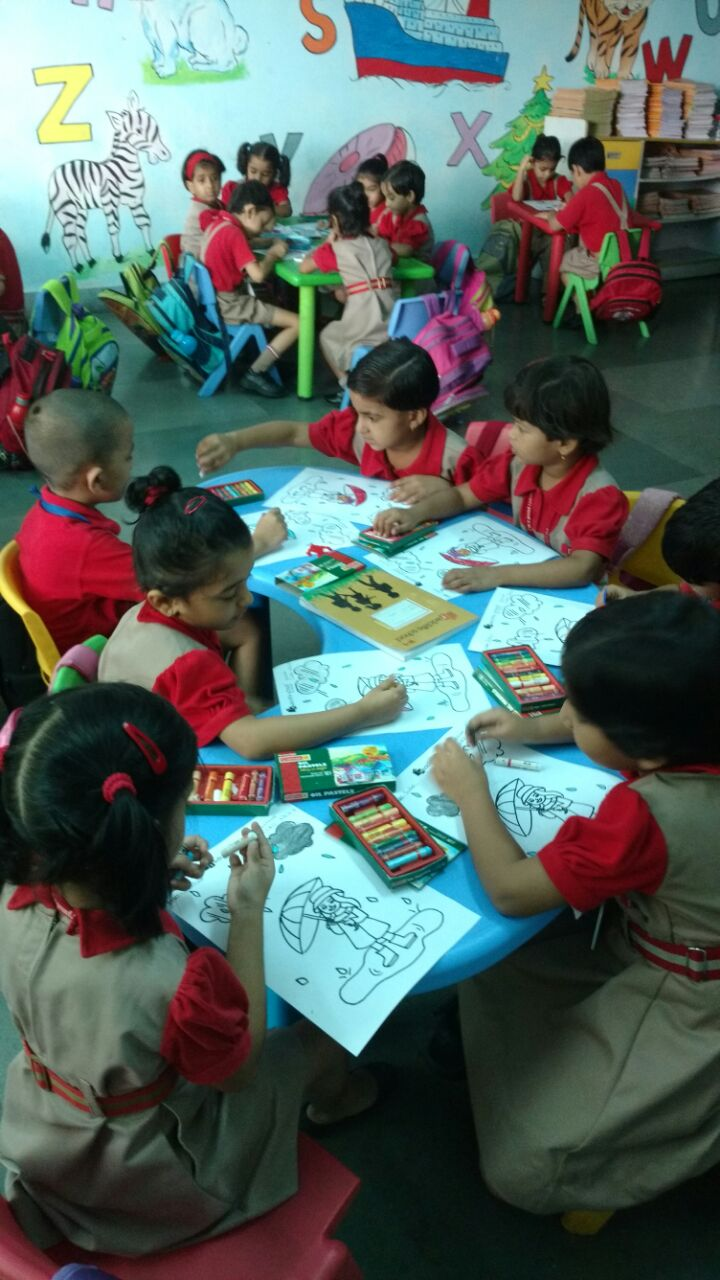 Drawing Competition Pre-primary