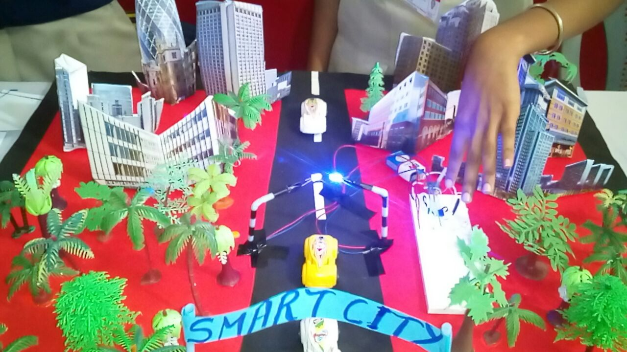Inter school Model making competition