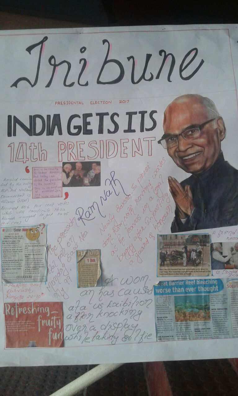 Inter House Newspaper Making Competition