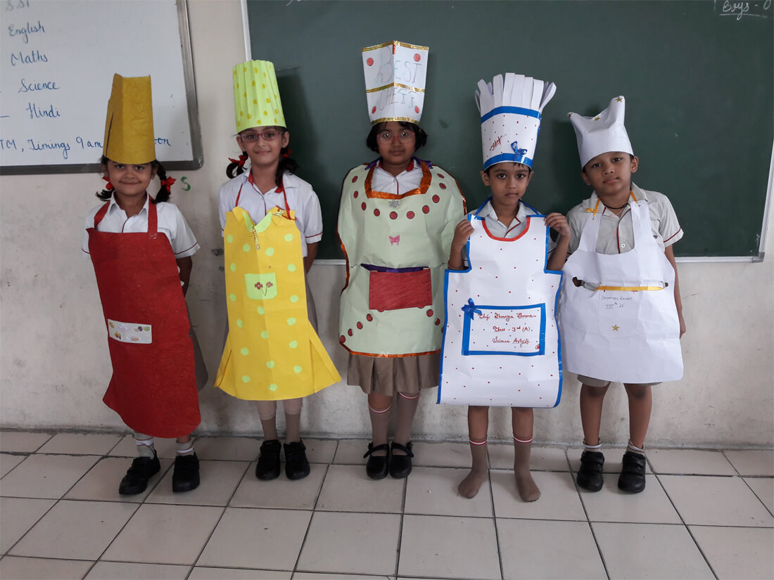 Science Activity Methods of Cooking Class III A