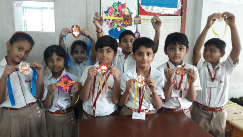 Rakhi Making Activity