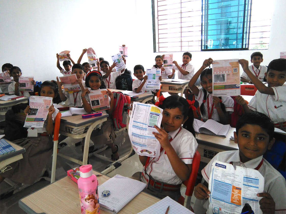 Maths activity class III A
