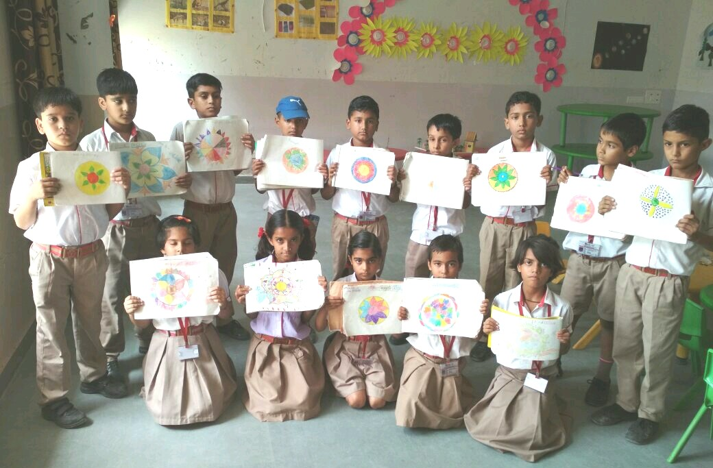 Rangoli Making activity