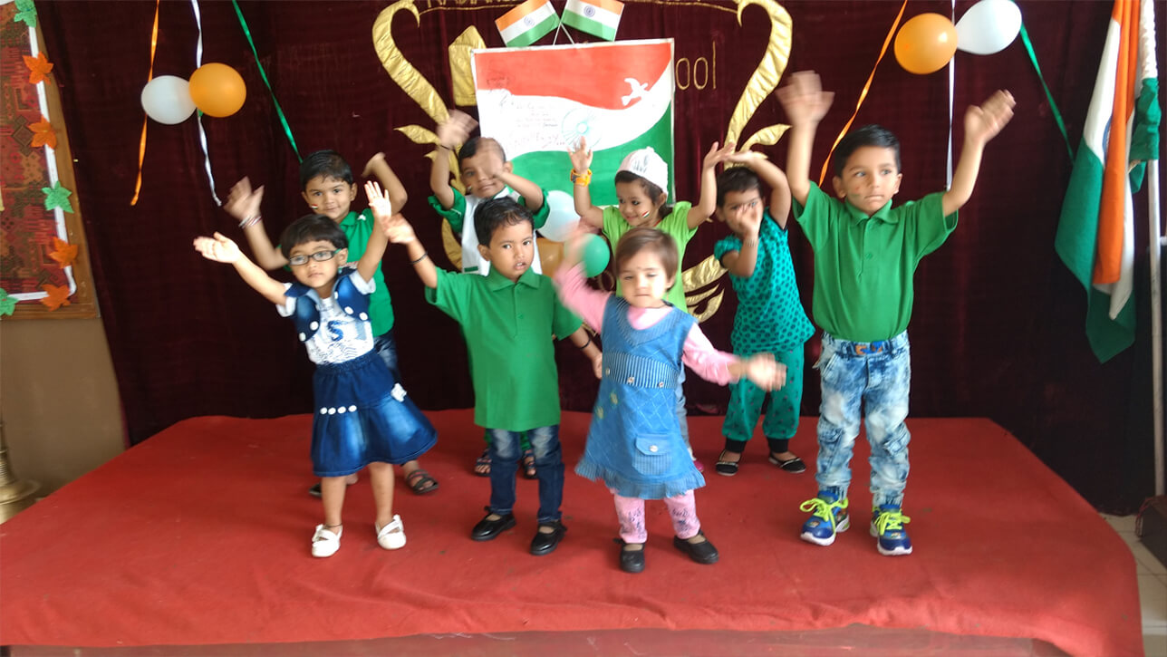 Independence Day Celebration Kindergarten