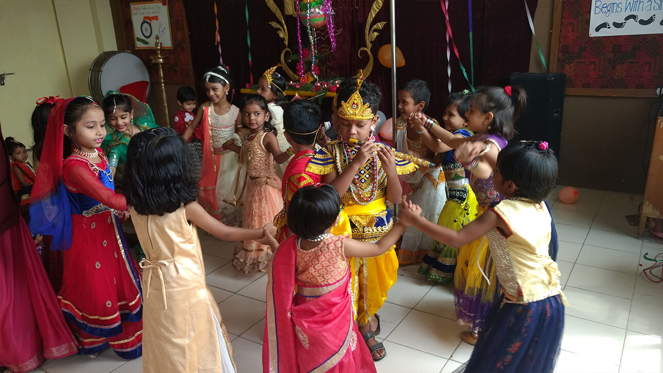 Janmashtami Celebration Kindergarten