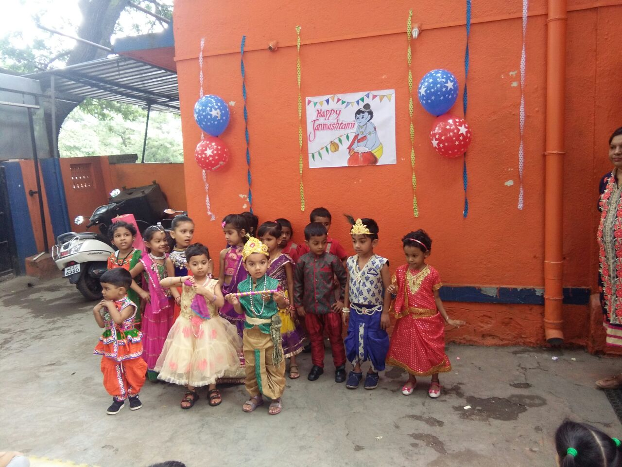 Janmashtmi Celebration - Pre Primary Tingre Nagar