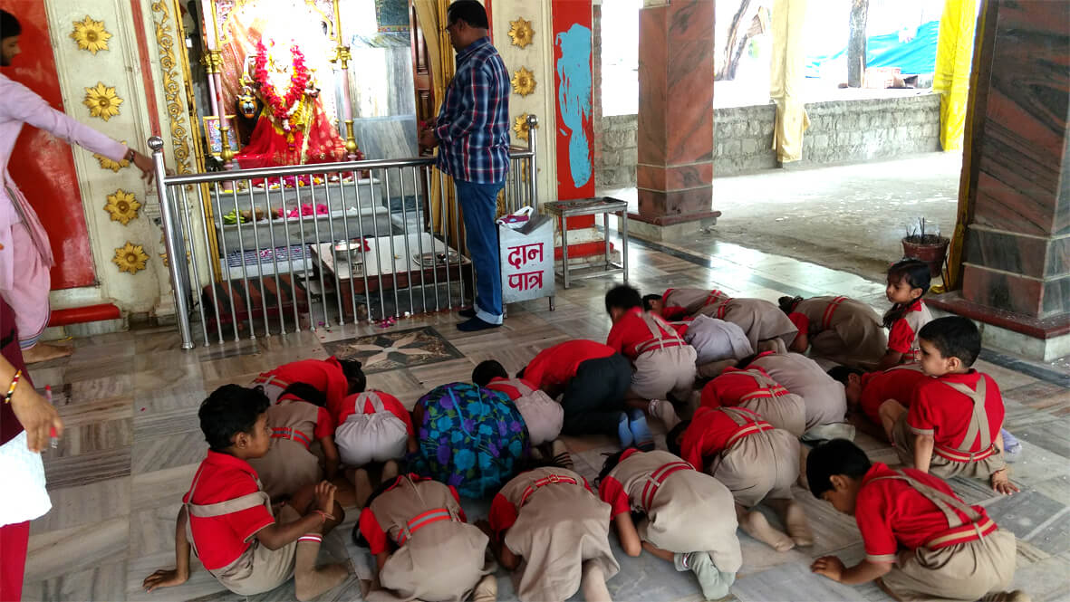 Visit to Holy Place - Kindergarten