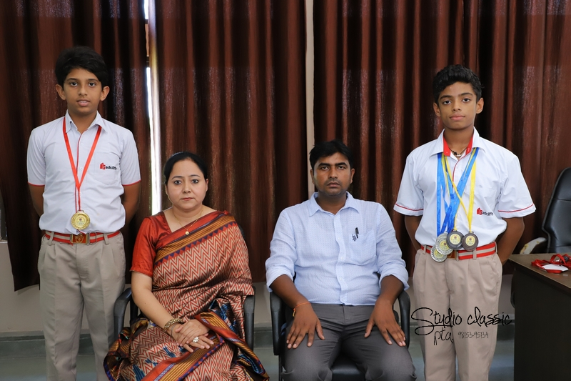 Students got Gold Medals
