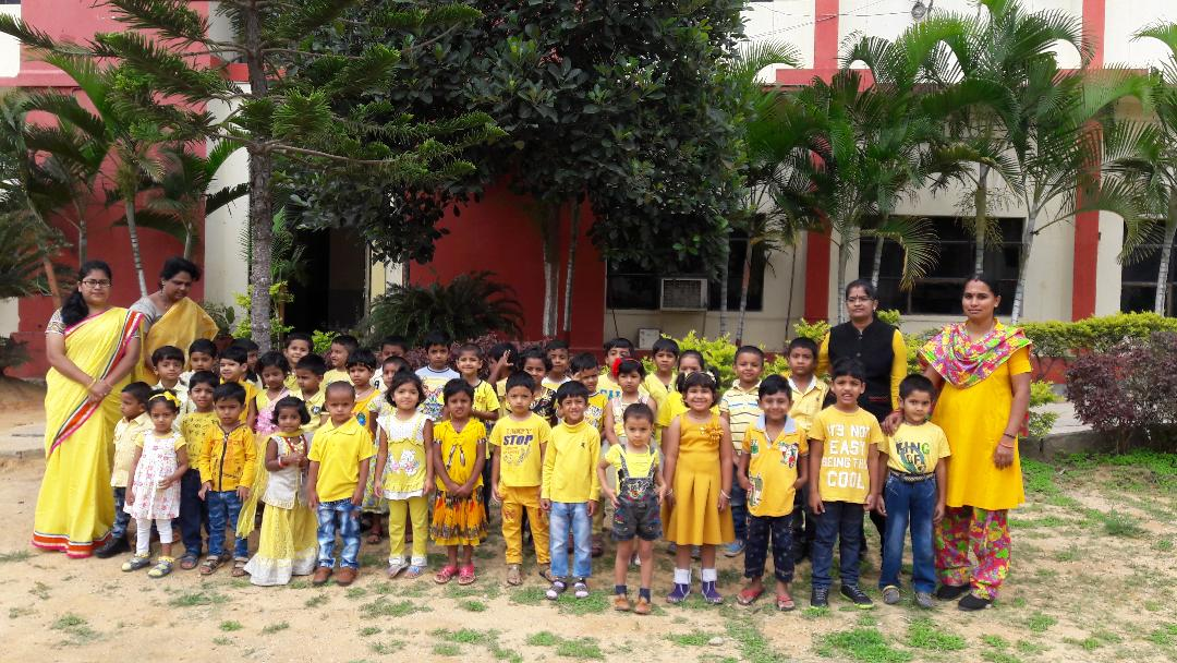 PRE-PRIMARY YELLOW DAY CELEBRATION