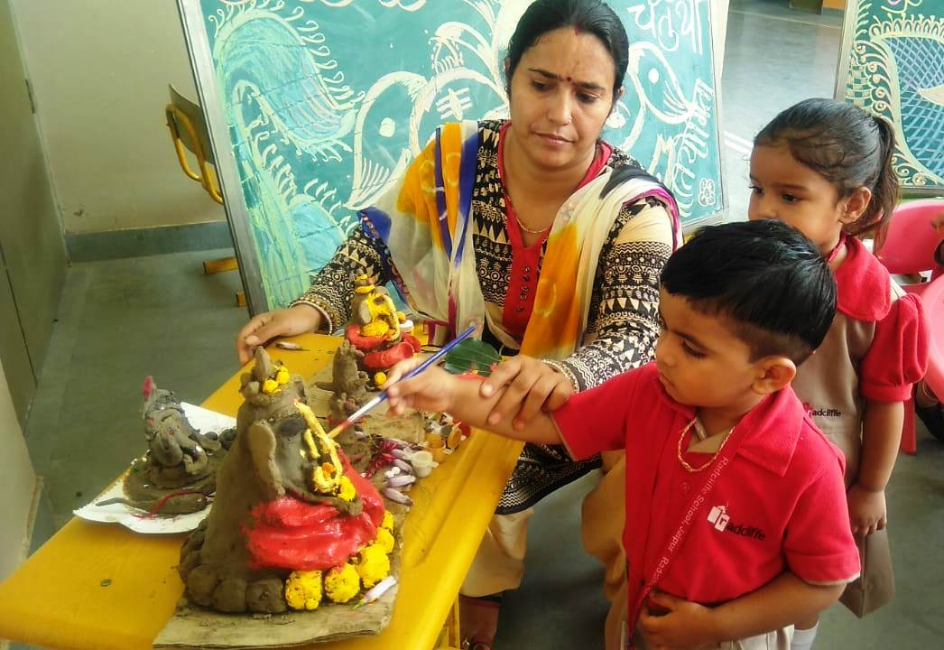 Eco-friendly Ganesha Making Activity