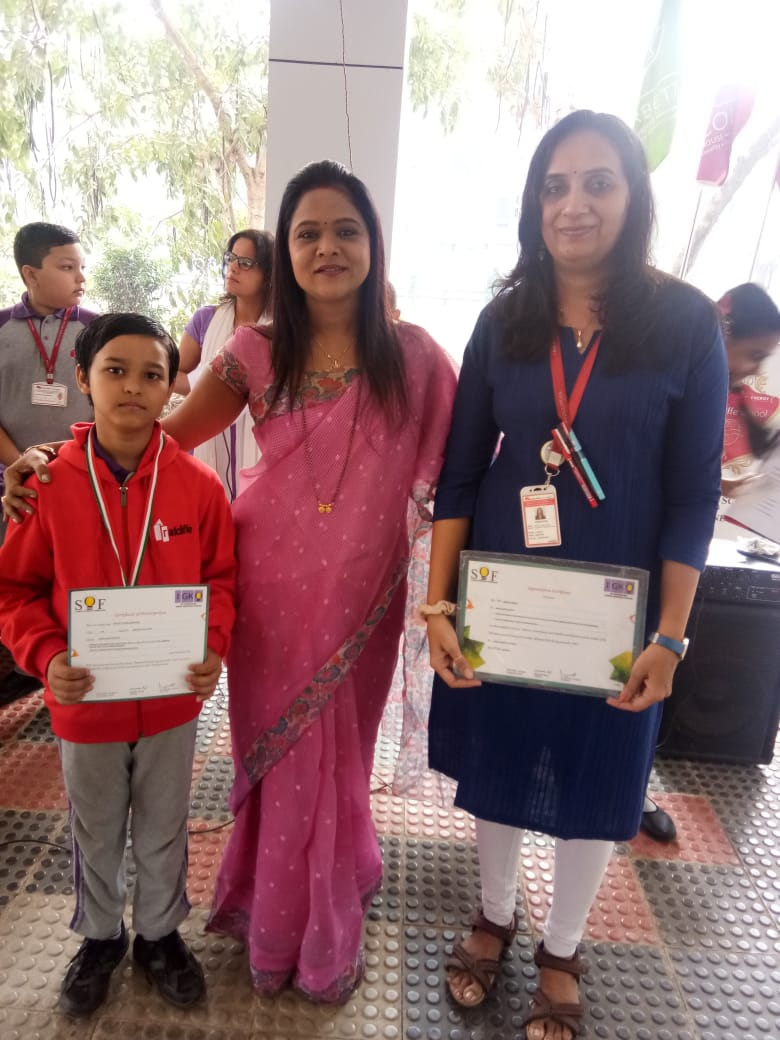GOLD MEDAL for Olympiad General Knowledge Exam