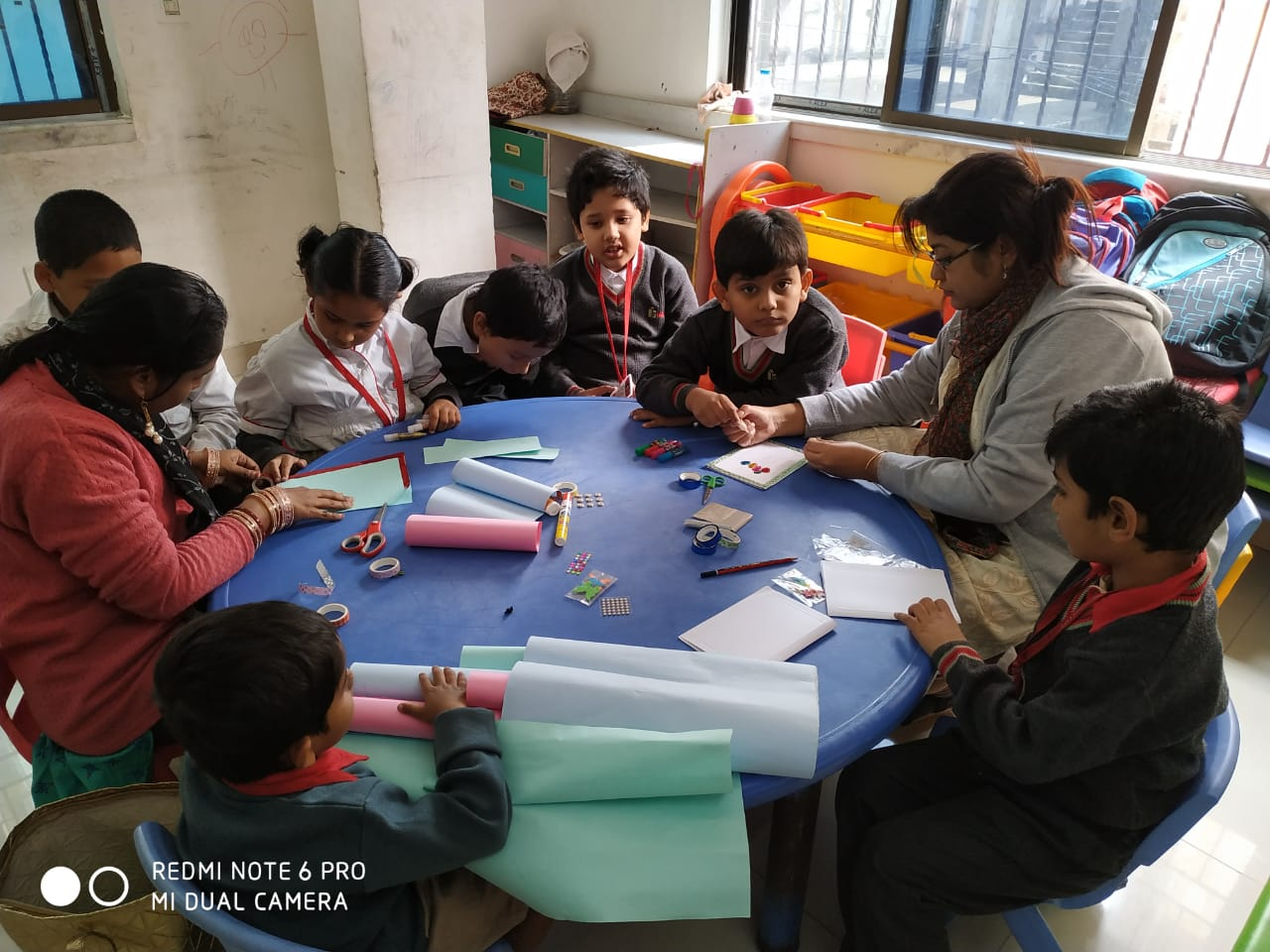 GREETING CARD MAKING ACTIVITY